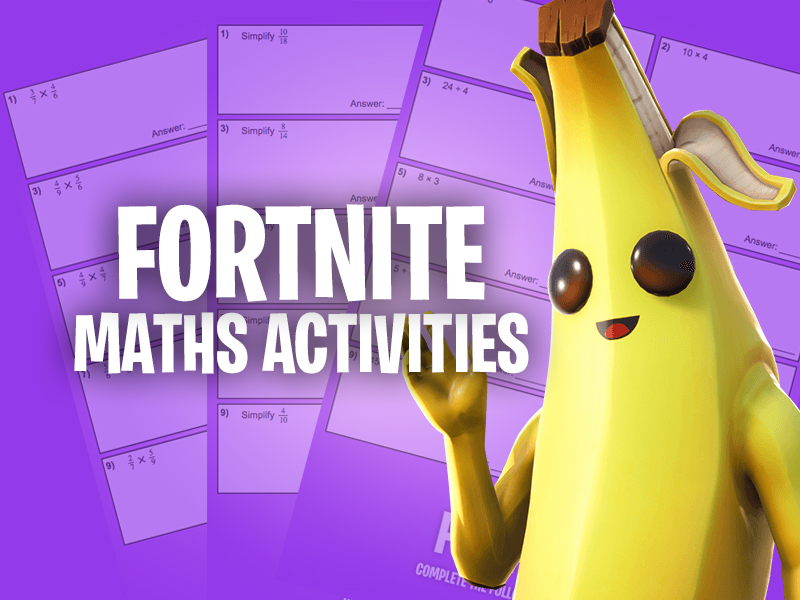 Fortnite - Maths Activities