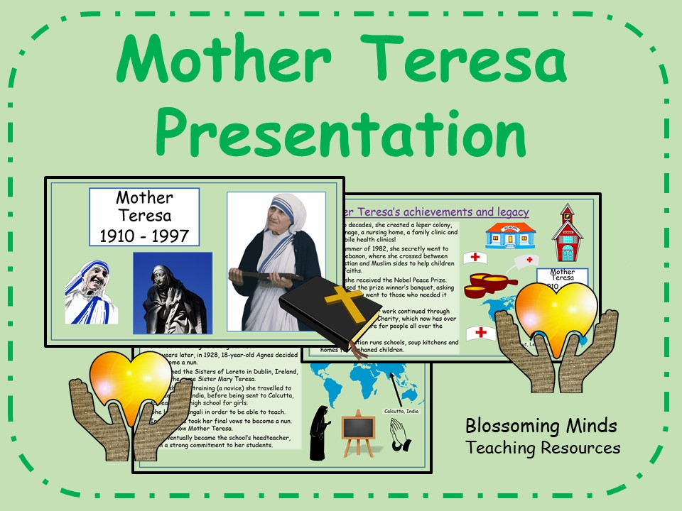 Mother Teresa Presentation (Saint Teresa of Calcutta)