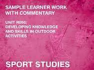 Sports Studies R056 Outdoor Activities