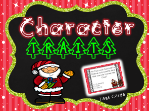 Christmas Character Trait Task Cards