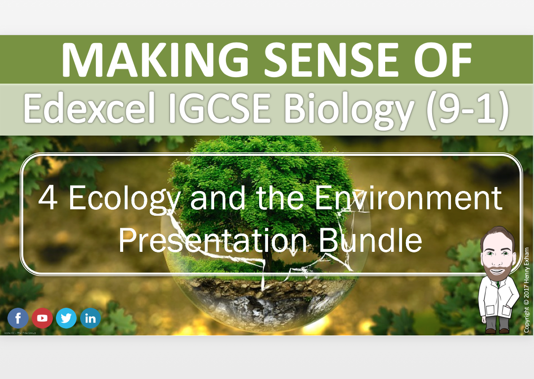 Section 4 Presentation Bundle - IGCSE Biology 9-1