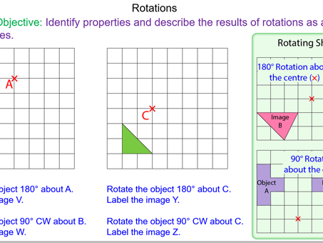 How to perform rotations about a Centre