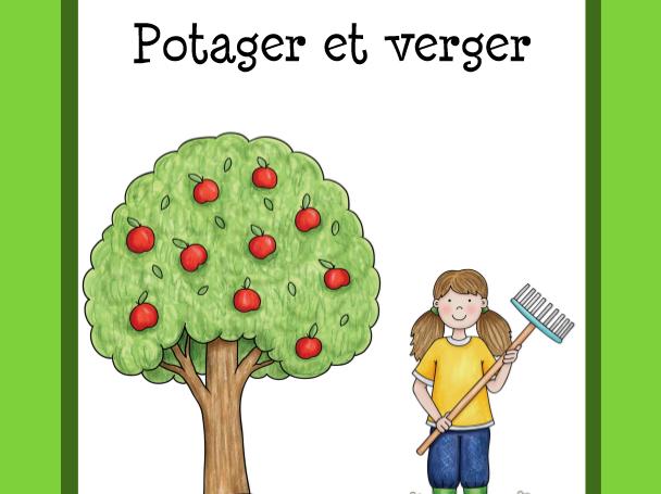 Vocabulaire fruits et légumes  (Fruits and Vegetables Vocabulary)