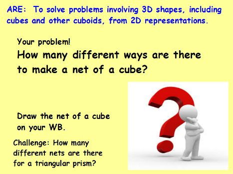 Net of cubes and prisms investigation!