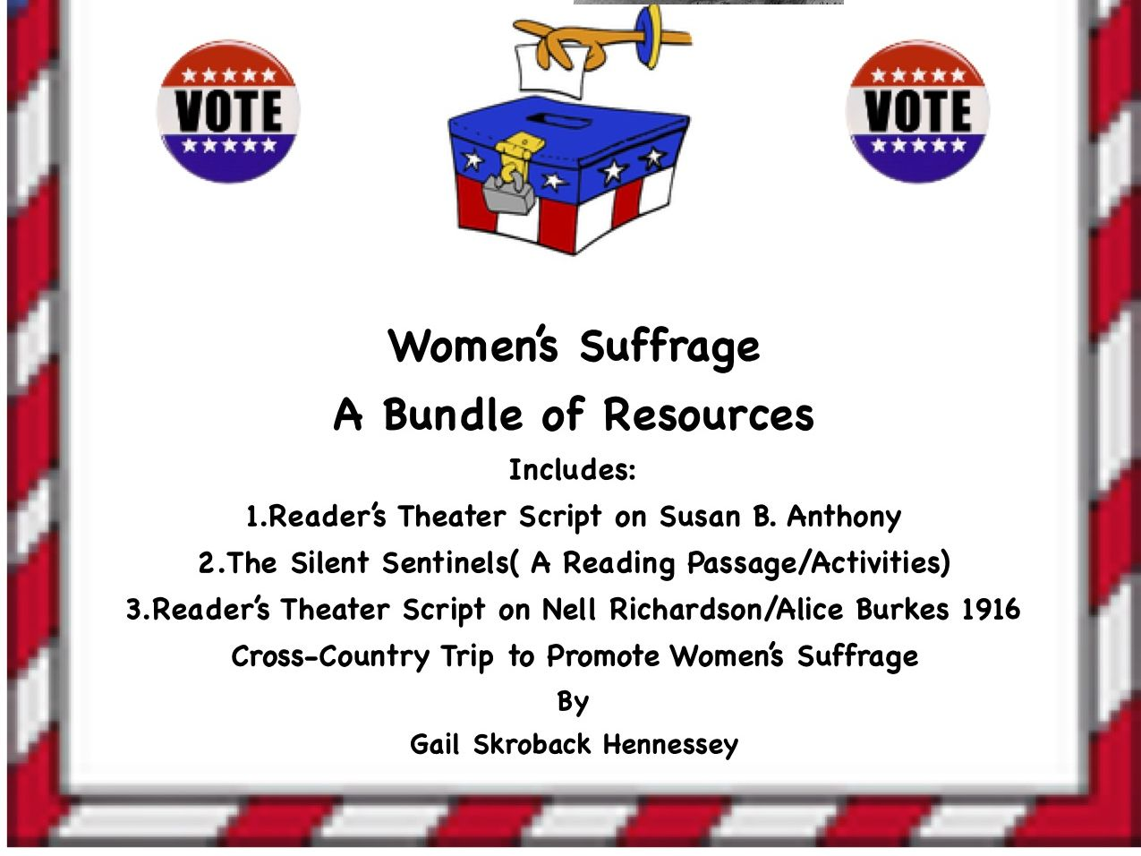 Women's Suffrage: A Bundle of Resources