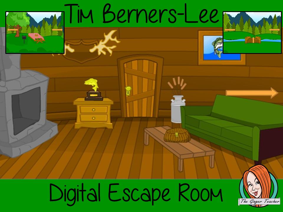 Tim Berners-Lee Escape Room