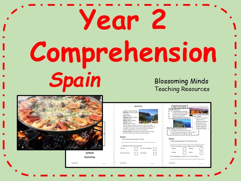 Year 2 comprehension - Spain