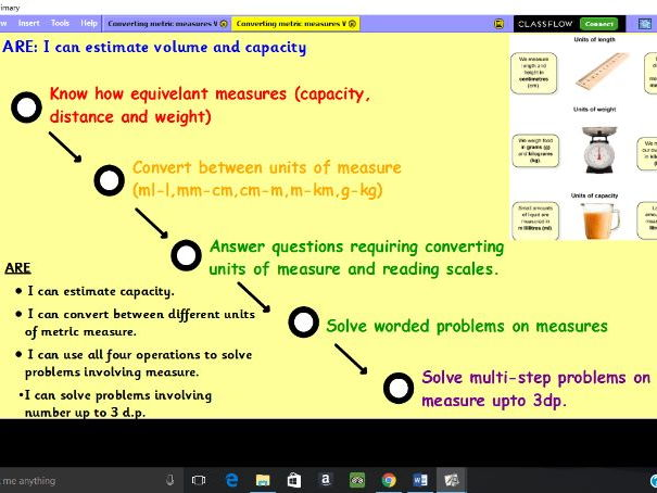 Converting Metric Measures MEGA PACK - ml, l , g, kg & mm, cm, m, km