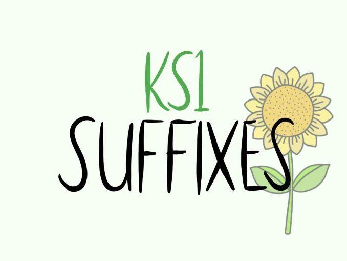 KS1 Suffixes