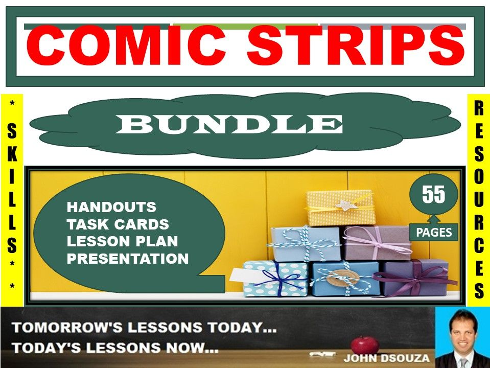 COMIC STRIP CREATIONS BUNDLE