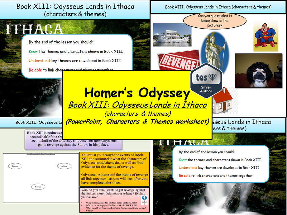 Homer's Odyssey – Book XIII: Odysseus Lands in Ithaca (characters & themes)