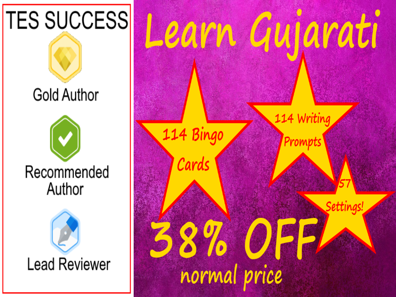 Learn Gujarati The Fun Way!  - Bundle