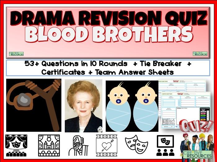 Blood Brothers Quiz