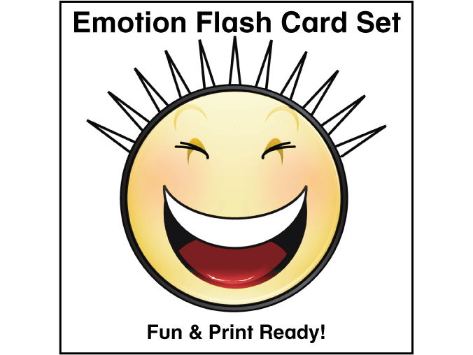 ESL Emotions Flash Cards