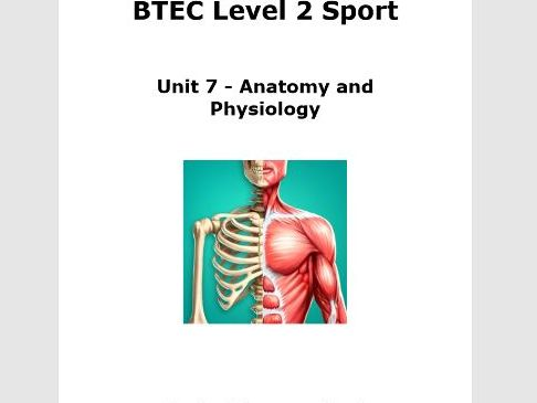 Workbooklet Aim A (Muscular skeletal system)