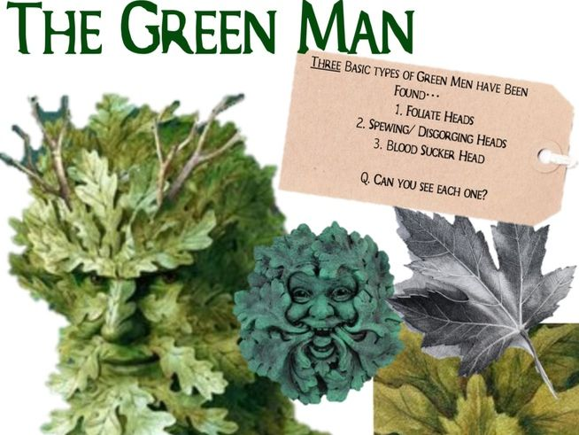 Green Man Resource Sheet / Imagery