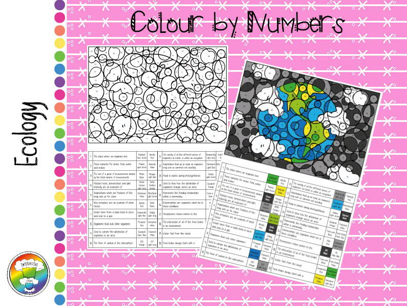 Ecology Colour by Numbers