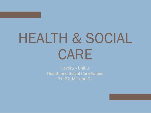 BSc (Hons) Health and Social Care