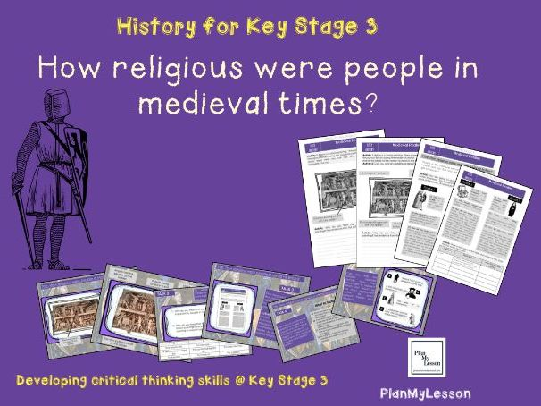 Medieval Realms: 'How religious were people in Medieval times?