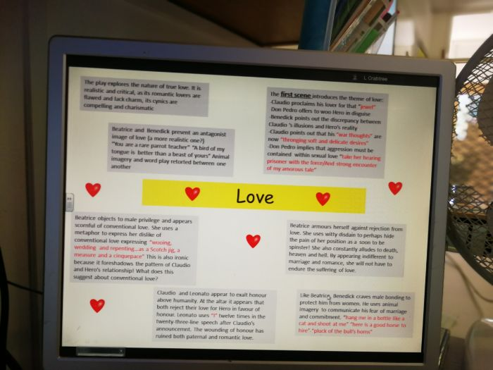 Eduqas/WJEC English Literature GCSE Component 1 -Much Ado about Nothing and Poetry Anthology