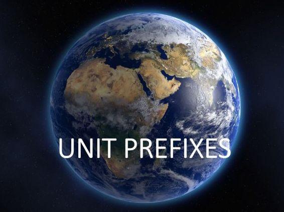 GCSE Science Unit prefixes