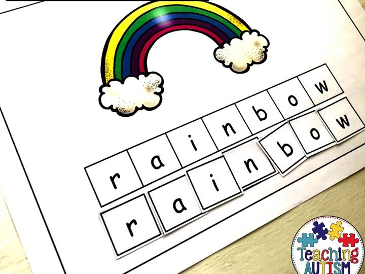 Weather Spelling Activity