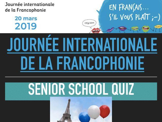 Francophonie Quiz