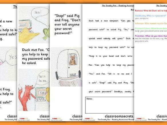 Reading Assessment for Reception