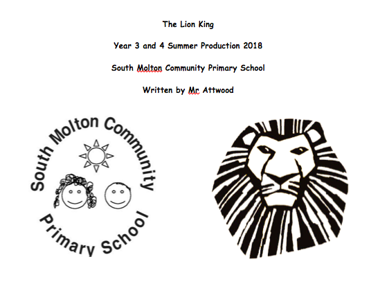The Lion King Script - School Production
