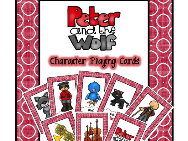 Peter and the Wolf Character Card Games