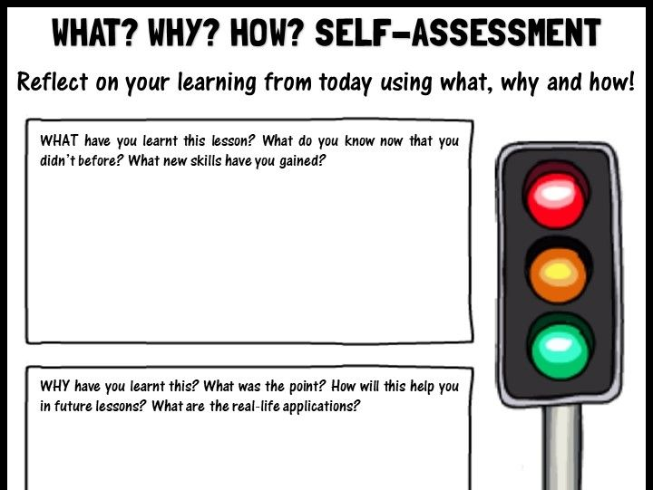 WWH self-assessment