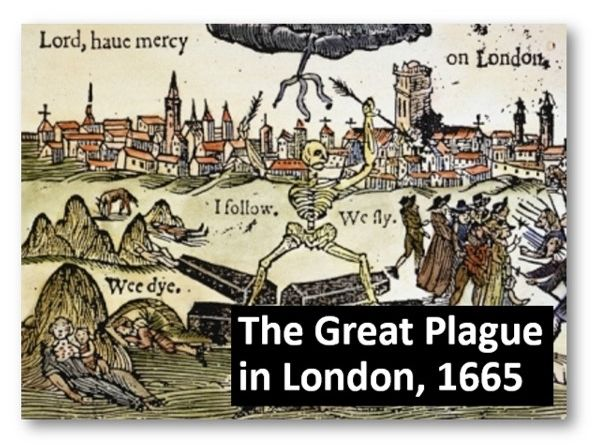 The Great Plague in London, 1665