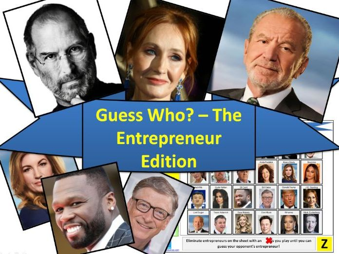 Guess Who? - The Entrepreneur Edition