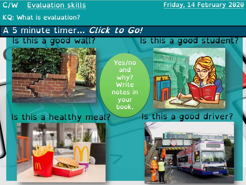 GCSE Language Paper 1 Question 4 evaluation scheme remote distance lockdown learning