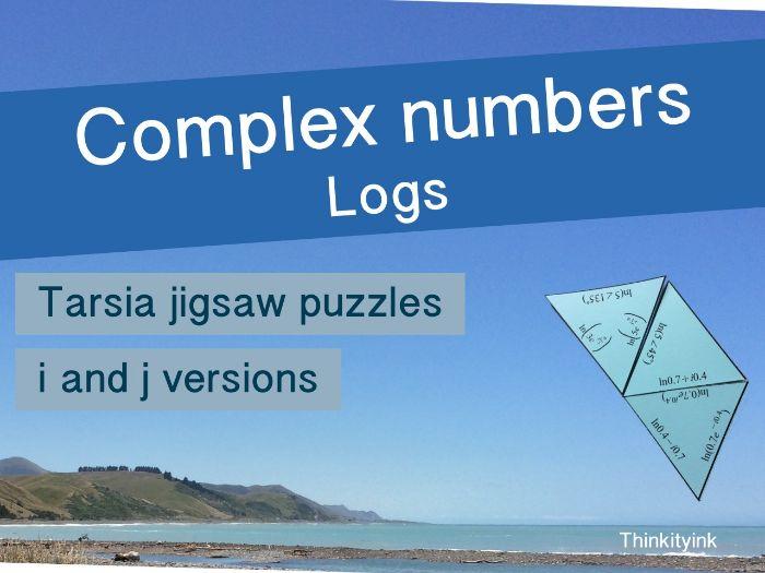 Complex numbers - logs Tarsia jigsaw