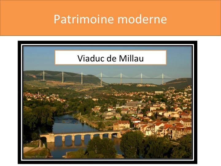Patrimoine moderne - Le Viaduc de Millau