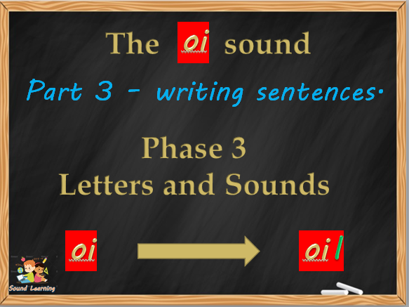 OI a set of 3 PowerPoints to teach the digraph