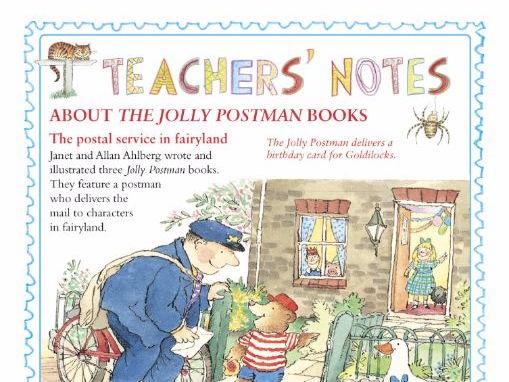 The Jolly Postman learning resource (licensed by Penguin Random House) (EYFS/KS1/2)