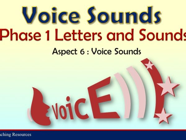 Voice Sounds - Letters and Sounds Phase 1