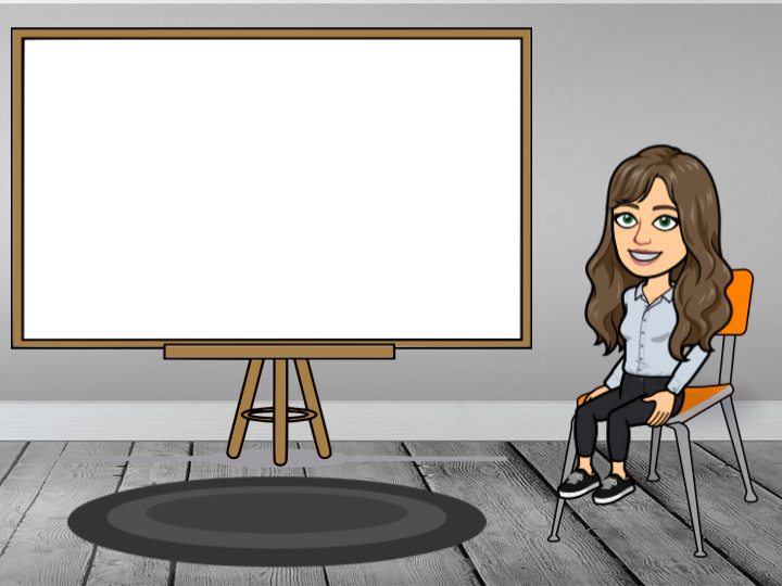 Virtual Classroom Template - Bitmoji