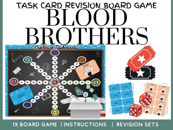 Blood Brothers Revision Board Game