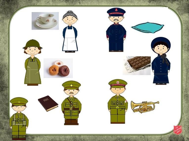 The First World War and The Salvation Army (KS1)