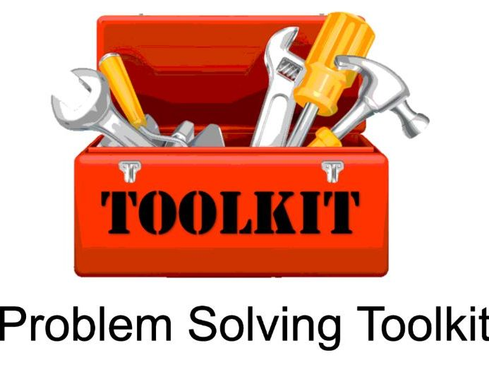 Problem Solving Toolkit - classroom display