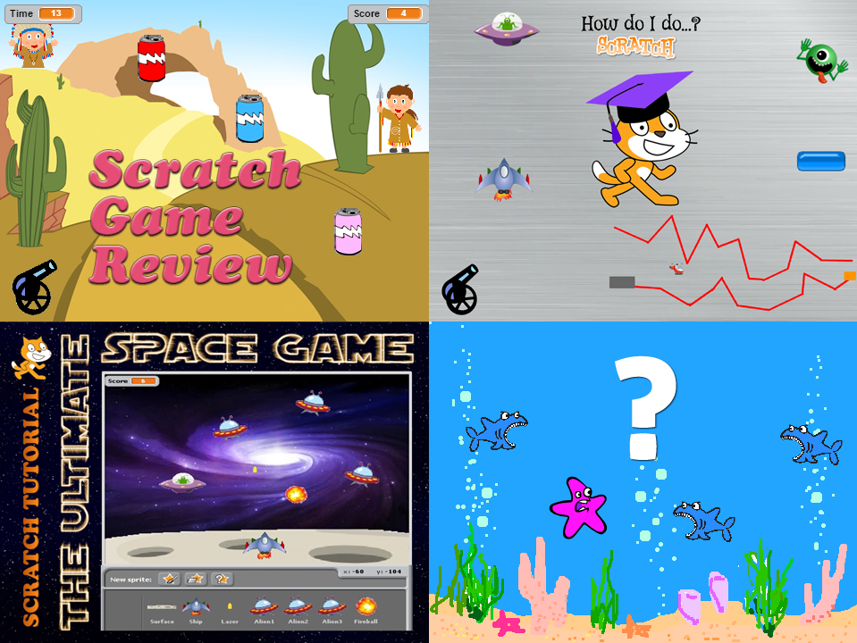 5 x Scratch Programming Activities - Save over 20%!