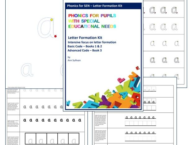 Letter Formation Kit - Teaching Handwriting with Phonics - Phonics for SEN