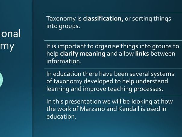 PowerPoint: A New Taxonomy