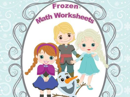 Frozen Math Worksheets
