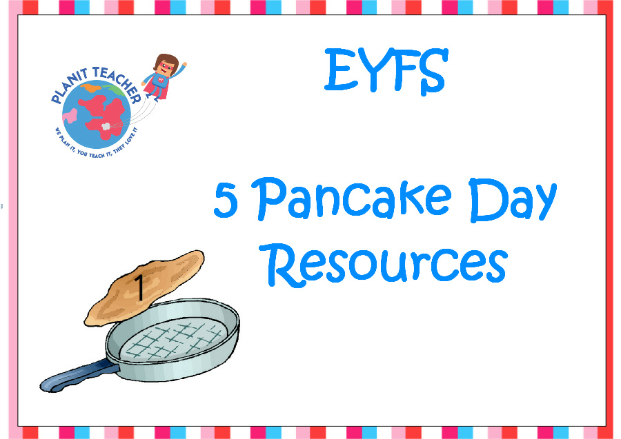 EYFS Pancake Day Resources - Set of 5