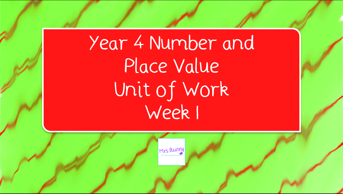 Year 4 Autumn Block 1 Lessons 1-5 (Week 1)