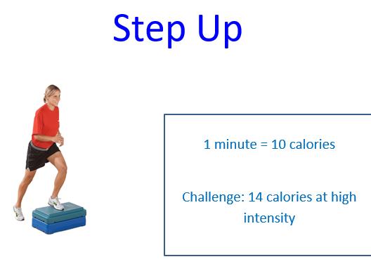 Practical PE - Calorie challenge